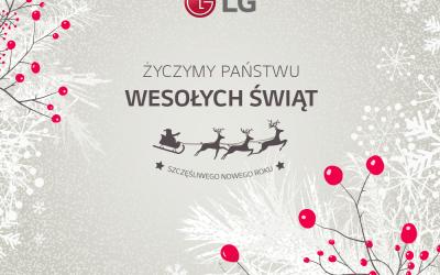 Wesołych Świąt od LG!