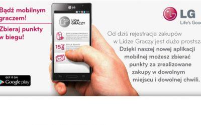 Nowość: aplikacja mobilna do obsługi Twojego konta w Lidze Graczy.