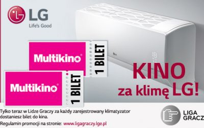 KINO ZA KLIMĘ LG – nowa promocja w Lidze Graczy
