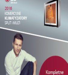 Nowy katalog klimatyzacji komercyjnej, split, multi 2016