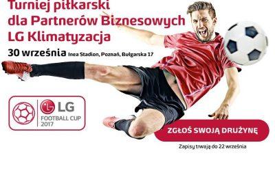 Rusza druga edycja turnieju LG Football CUP. Zgłoś swoją drużynę!