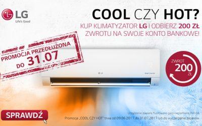 COOL czy HOT – tylko do 14.08 rejestracja urządzeń promocyjnych