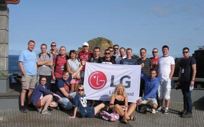 LG Electronics: odkrywanie Madery z firmą LG