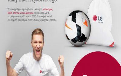 Mistrzowska promocja LG – zdobądź piłkę z podpisem Kuby Błaszczykowskiego!