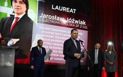 Jarosław Jóźwiak z LG Electronics Dyrektorem Sprzedaży Roku wg PNSA