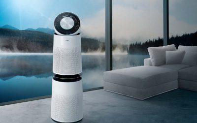 Oczyszczacze powietrza – nowość w ofercie LG