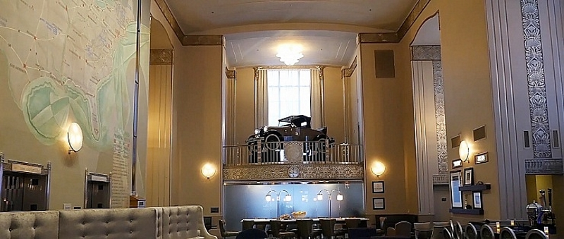 Multi V w zabytkowym hotelu