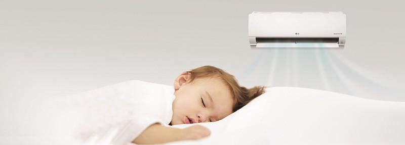 Klimatyzacja w domu a dzieci
