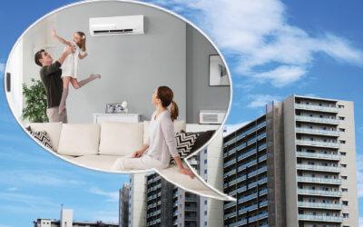 Klimatyzacja na balkonie