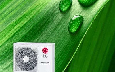 Zielony wybór dla mądrych:  LG Therma V R32 Split – wydajna w ogrzewaniu, przyjazna planecie.