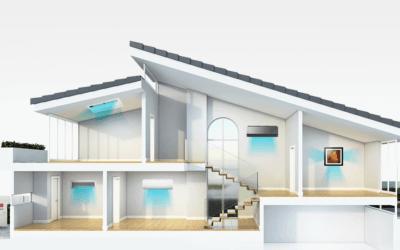 Wiele możliwości rozwiązań klimatyzacyjnych z LG Multi Split