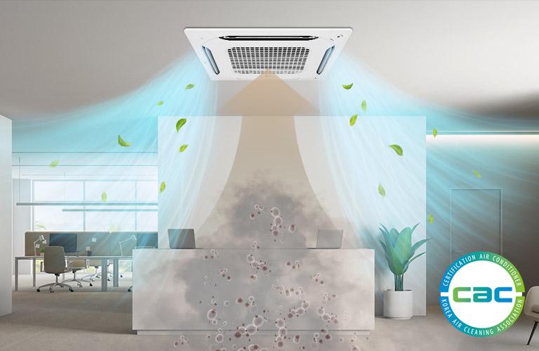 Nowe kasety LG z funkcją oczyszczania powietrza