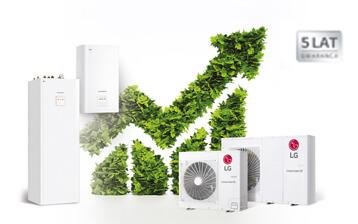 LG wydłuża gwarancję do 5 lat dla wiodącej serii pomp ciepła Therma V!